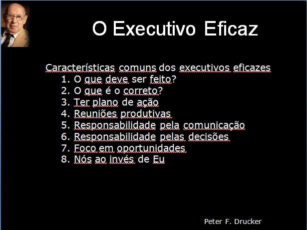 Effective Executive - Parte 2