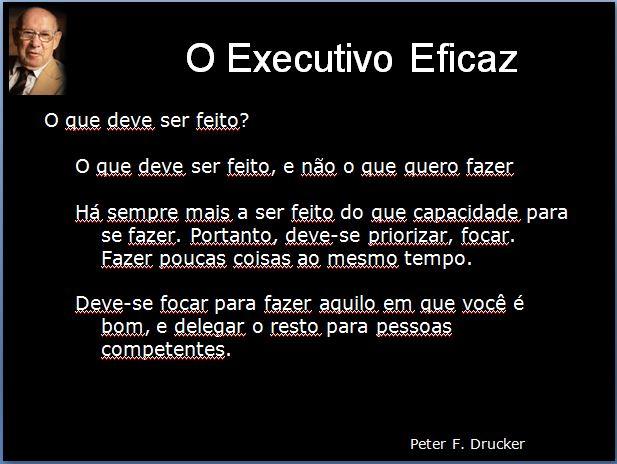 Effective Executive - Parte 3