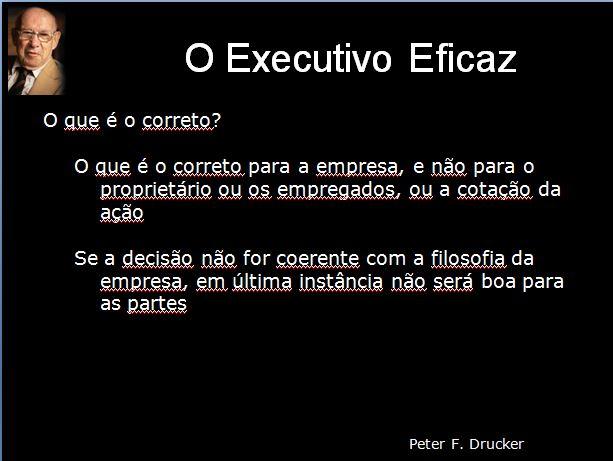 Effective Executive - Parte 4