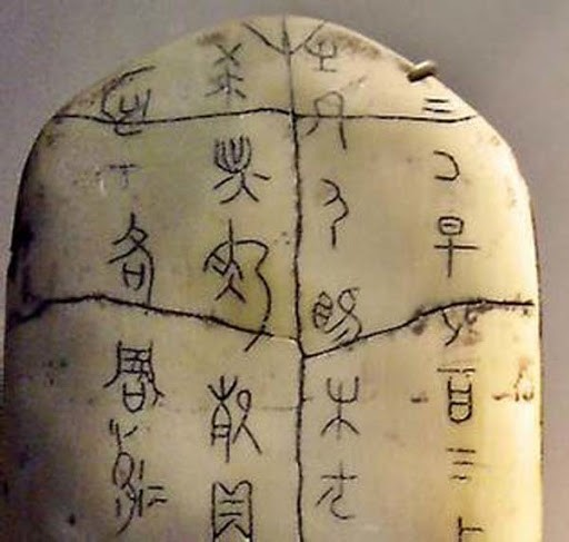 Chinese Characters, Oracle Bones, and Calligraphy · Writing ...